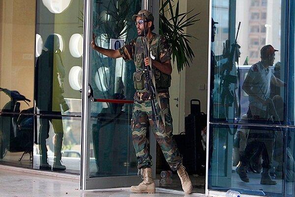 حمله مردان مسلح به مقر اصلی شورای ریاست جمهوری لیبی